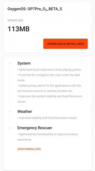 OnePlus 7T receiving OxygenOS 10.0.5 update, 7 Pro gets a new Open Beta