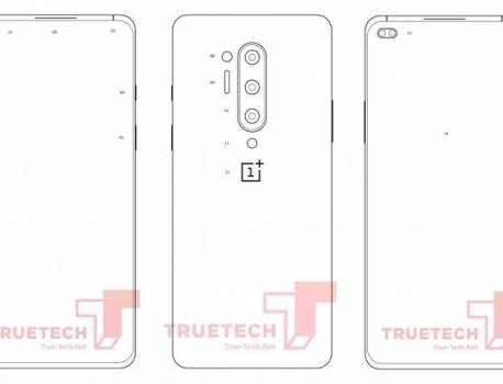 OnePlus 8 Pro illustration surfaces, may come with quad rear cams