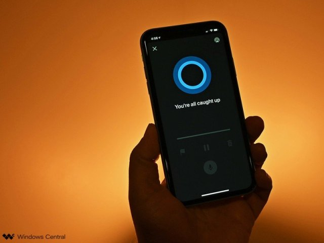Cortana Play My Emails