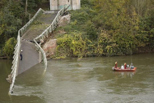 Pont de Mirepoix: de nouveaux éléments sur les causes de l'effondrement