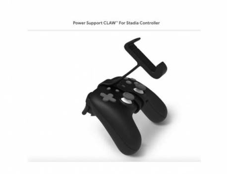 Power Support CLAW For Stadia Controller listed on Google Store