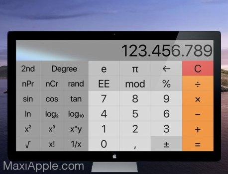 Resizable Calculator Pro Mac – Calculatrice Scientifique Modulable