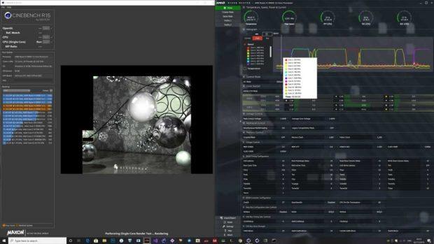 Ryzen 9 3900X – Profil d'alimentation AMD - Cinebench R15
