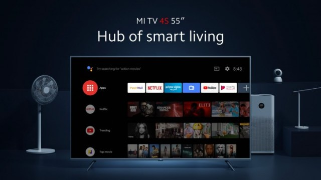 """Xiaomi launches Mi TV 4S in Europe, the 55"""" costs €449"""