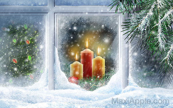 fond ecran mac pc wallpapers fetes noel 4 - 50 Fonds d'Ecrans Noël en HD 4K pour Mac (gratuit)
