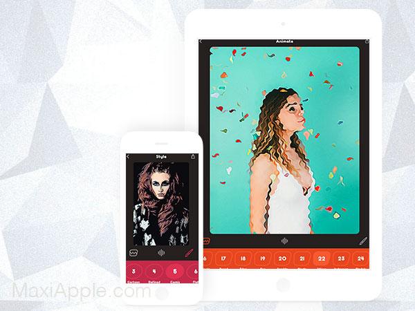 animatix photo animation iphone ipad ios 1 - Animatix iPhone iPad - Transformer vos Photos en Animation