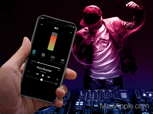 bass booster 3d volume iphone ipad gratuit 1 - Bass Booster 3D iPhone - Lecteur et Amplificateur Audio HD (gratuit)