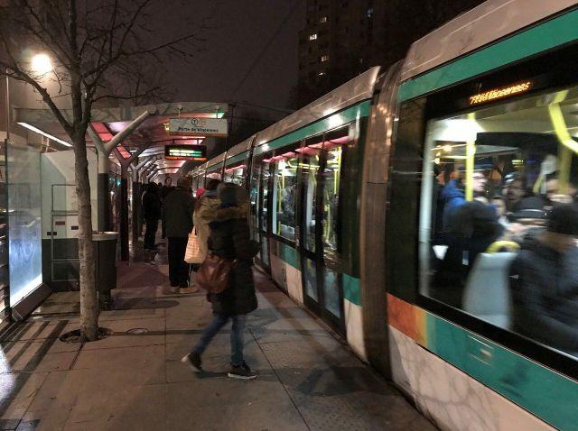Un tramway sur quatre sur la ligne T3a/Thibault BURBAN