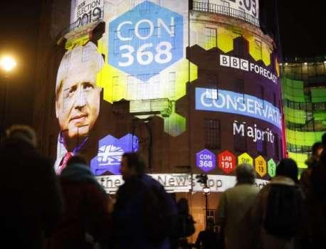 Elections au Royaume-Uni : majorité absolue pour Boris Johnson, selon un sondage de sortie des urnes – Le Monde