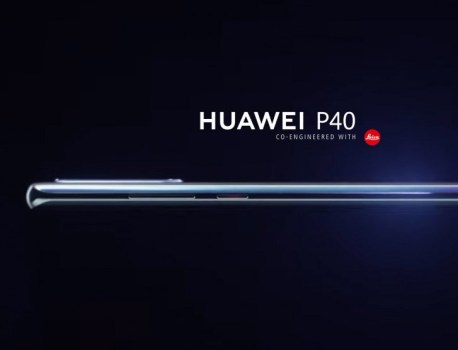 Huawei P40's first render leaks, to feature a curved 6.57″ screen