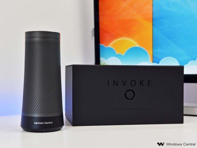Invoke Speaker with Cortana