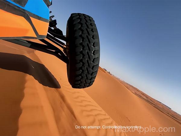 shot on iphone 11 pro pub apple desert 04 - L'iPhone 11 Pro dans le Désert d'Arabie Saoudite (video)