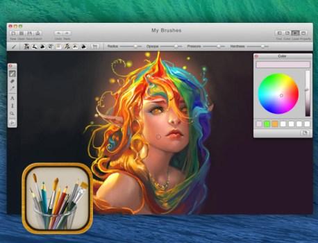 MyBrushes Mac – Outil de Dessin, Peinture et Retouche (gratuit)