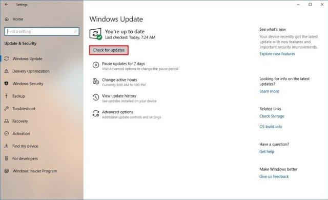 Windows Update download driver update