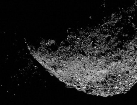 No One Knows Why Rocks Are Exploding From Asteroid Bennu