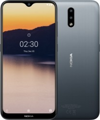 Nokia 2.3 in Charcoal color