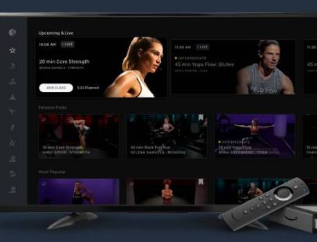 Peloton App now available for Fire TV devices