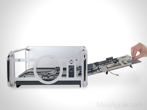 mac pro 2019 demontage reparation video 03 - Pour iFixit le Mac Pro 2019 est Facile à Démonter (video)