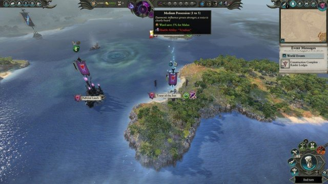 Malus Darkblade struggles in Total War: Warhammer II - The Shadow & The Blade