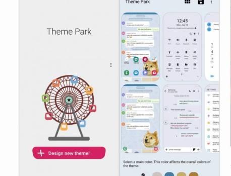 Samsung Theme Park lets you create your One UI theme