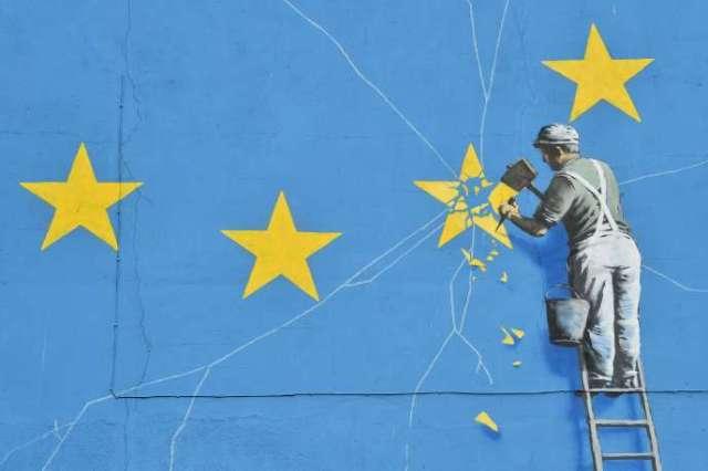 Le Brexit vu par Banksy.