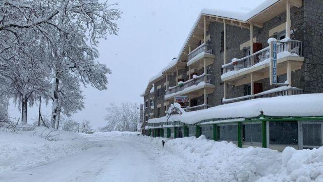 Mont-Louis, ce mercredi 22 janvier au matin. / © FTV / N. Esturgie