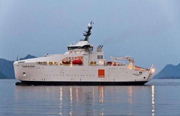 Fibre: un câble sous-marin d'Orange utilisé pour prévenir les séismes