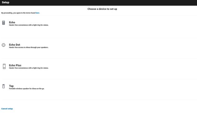 Alexa web app