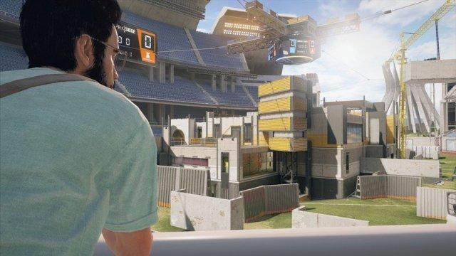 Rainbow Six Siege Stadium Map
