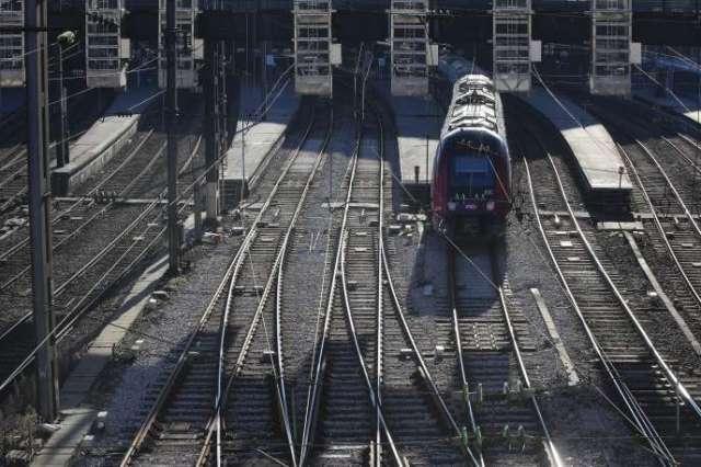 Gare Saint-Lazare, à Paris, lors de la 33e journée de grève illimitée dans les transports, le 6janvier.