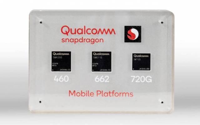 Qualcomm Snapdragon Mobile Platforms Snapdragon 720G Snapdragon 662 Snapdragon 460