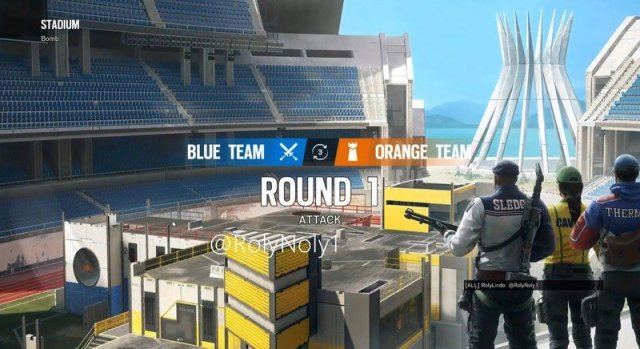 Rainbow Six Siege Stadium Map Leak Loading Screen