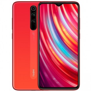 Redmi Note 8 Pro in Twilight Orange color