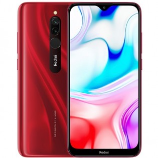 Redmi 8 in Phantom Red color