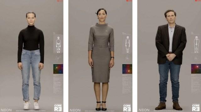 Samsung announces Project NEON, realistic digital humanoid avatars