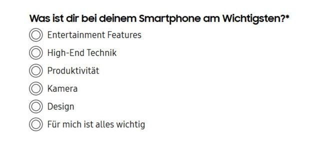 galaxy s20 features according to samsung