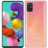 Samsung Galaxy A51 in Prism Crush Pink color