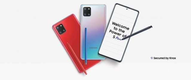 Samsung Galaxy Note10 Lite launches in India on January 21
