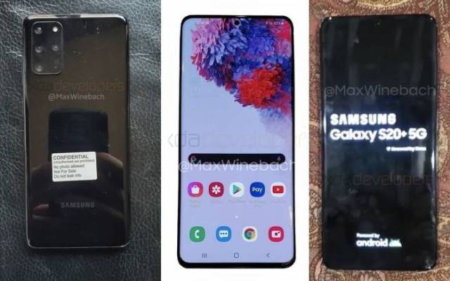 Samsung Galaxy S20 Phone