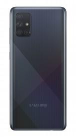Samsung Galaxy A71 in Crush Black