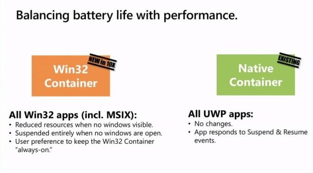 Windows10x Battery Apps