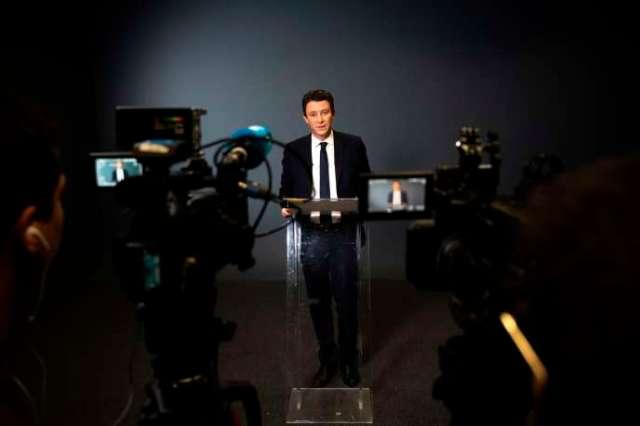 Benjamin Griveaux, au siège de l'AFP, à Paris, le 14 février 2020.