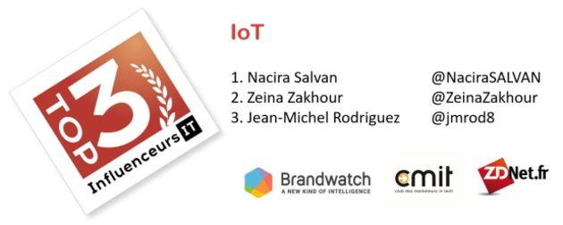 Baromètre des influenceurs IT : 3 comptes à suivre sur l'IoT