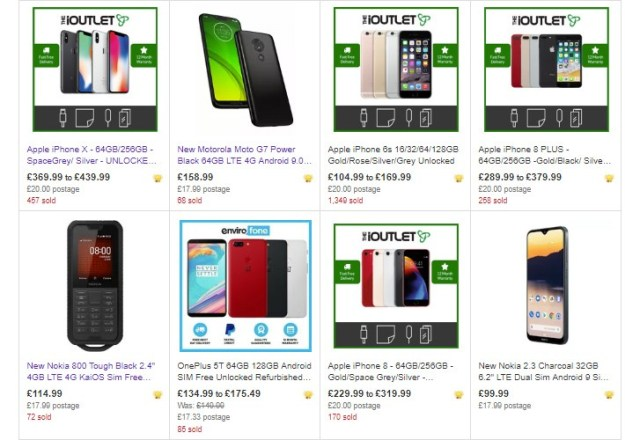 eBay UK is offering 14% off various phones and other items, just in time for Valentine's day