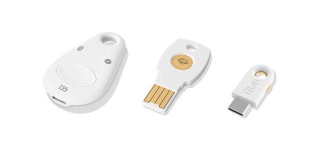 Google étend la disponibilité de ses Titan Security Key