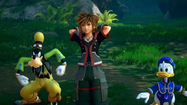 Kingdom Hearts 3 Sora, Goofy, and Donald