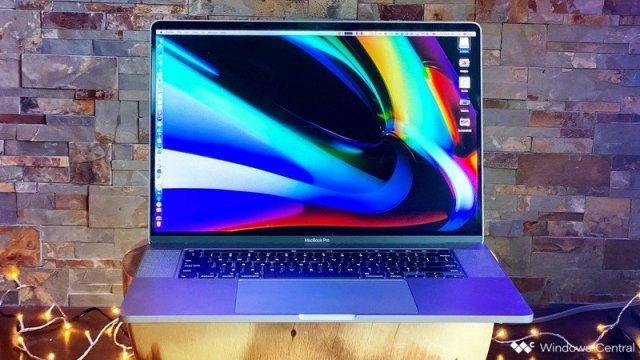 16 Inch Macbook Pro Blue Wallpaper Hero