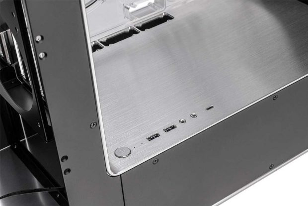 Boitier EK-Quantum InWin 909EK Silver Limited Edition