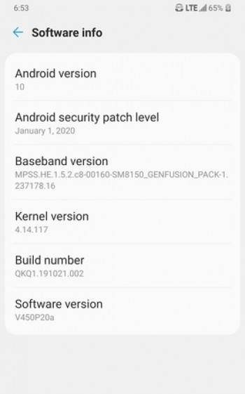 LG brings stable Android 10 for V50 users on Sprint