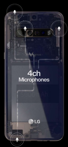 Leaked image of LG V60 ThinQ 5G confirmed notched display and quad rear cameras
